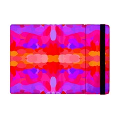 Purple, Pink And Orange Tie Dye  By Celeste Khoncepts Com Apple Ipad Mini Flip Case by Khoncepts