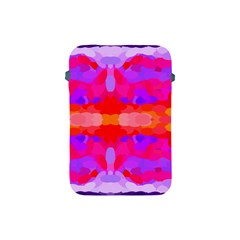 Purple, Pink And Orange Tie Dye  By Celeste Khoncepts Com Apple Ipad Mini Protective Sleeve by Khoncepts
