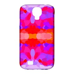 Purple, Pink And Orange Tie Dye  By Celeste Khoncepts Com Samsung Galaxy S4 Classic Hardshell Case (pc+silicone)