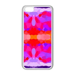 Purple, Pink And Orange Tie Dye  By Celeste Khoncepts Com Apple Iphone 5c Seamless Case (white) by Khoncepts