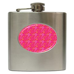 Psychedelic Kaleidoscope Hip Flask by StuffOrSomething