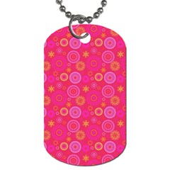 Psychedelic Kaleidoscope Dog Tag (two Sided)  by StuffOrSomething
