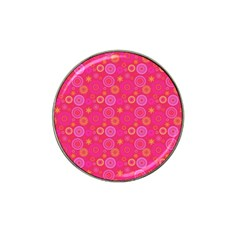 Psychedelic Kaleidoscope Golf Ball Marker (for Hat Clip) by StuffOrSomething