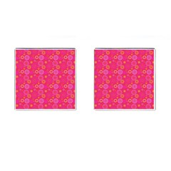 Psychedelic Kaleidoscope Cufflinks (Square) by StuffOrSomething