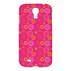 Psychedelic Kaleidoscope Samsung Galaxy S4 I9500/i9505 Hardshell Case by StuffOrSomething