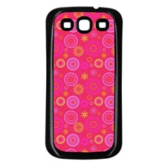 Psychedelic Kaleidoscope Samsung Galaxy S3 Back Case (black) by StuffOrSomething