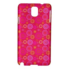 Psychedelic Kaleidoscope Samsung Galaxy Note 3 N9005 Hardshell Case by StuffOrSomething