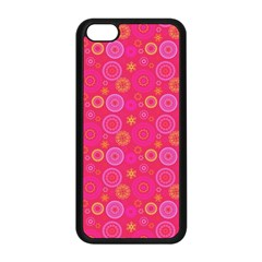Psychedelic Kaleidoscope Apple Iphone 5c Seamless Case (black) by StuffOrSomething