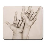 I Love You Large Mouse Pad (Rectangle)