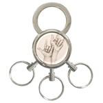 I Love You 3-Ring Key Chain