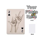 I Love You Playing Cards 54 Designs (Mini)