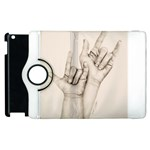 I Love You Apple iPad 3/4 Flip 360 Case