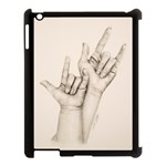 I Love You Apple iPad 3/4 Case (Black)