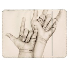 I Love You Samsung Galaxy Tab 7  P1000 Flip Case by TonyaButcher