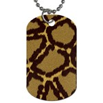 Leopard Print Design Dog Tag (Two Sides)