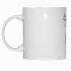 Domestically Disabled White Coffee Mug by StuffOrSomething