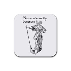 Domestically Disabled Drink Coasters 4 Pack (Square)