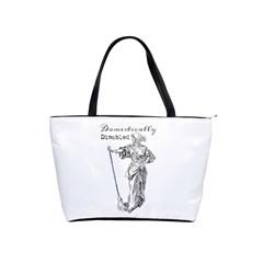 Domestically Disabled Large Shoulder Bag by StuffOrSomething