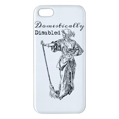 Domestically Disabled Apple Iphone 5 Premium Hardshell Case by StuffOrSomething