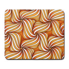 Sunny Organic Pinwheel Large Mouse Pad (rectangle) by Zandiepants