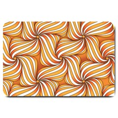 Sunny Organic Pinwheel Large Door Mat by Zandiepants