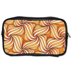Sunny Organic Pinwheel Travel Toiletry Bag (two Sides) by Zandiepants