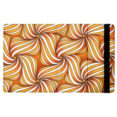 Sunny Organic Pinwheel Apple Ipad 3/4 Flip Case by Zandiepants