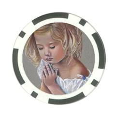 Prayinggirl Poker Chip (10 Pack) by TonyaButcher