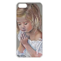 Prayinggirl Apple Iphone 5 Seamless Case (white) by TonyaButcher