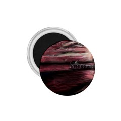 Pier At Midnight 1 75  Button Magnet by TonyaButcher