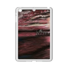 Pier At Midnight Apple Ipad Mini 2 Case (white) by TonyaButcher