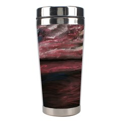 Pier At Midnight Stainless Steel Travel Tumbler by TonyaButcher