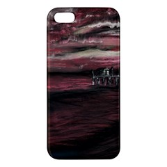 Pier At Midnight Iphone 5s Premium Hardshell Case
