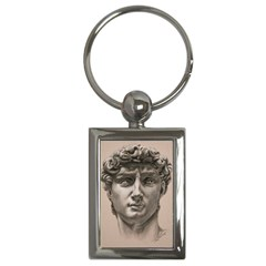 David Key Chain (rectangle) by TonyaButcher
