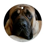 English Mastiff Ornament (Round)