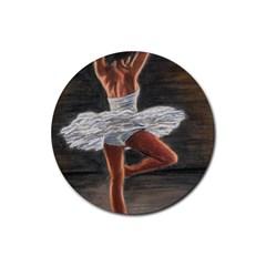 Ballet Ballet Drink Coaster (round)