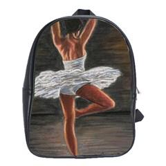 Ballet Ballet School Bag (xl) by TonyaButcher