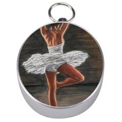 Ballet Ballet Silver Compass by TonyaButcher