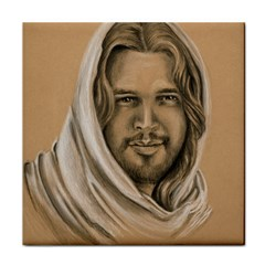 Messiah Ceramic Tile by TonyaButcher