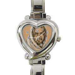 Messiah Heart Italian Charm Watch