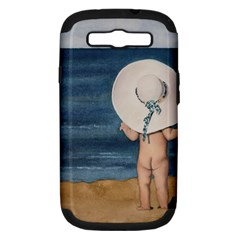 Mom s White Hat Samsung Galaxy S III Hardshell Case (PC+Silicone) by TonyaButcher