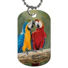 Feathered Friends Dog Tag (two Sided)