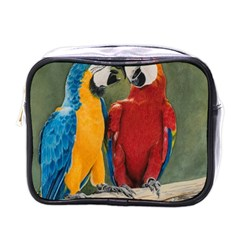 Feathered Friends Mini Travel Toiletry Bag (One Side) by TonyaButcher