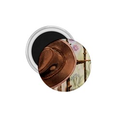 Hat On The Fence 1 75  Button Magnet by TonyaButcher