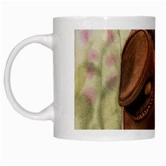 Hat On The Fence White Coffee Mug by TonyaButcher