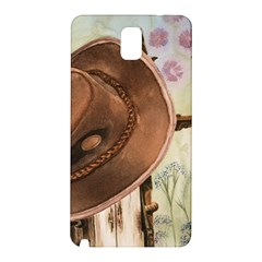 Hat On The Fence Samsung Galaxy Note 3 N9005 Hardshell Back Case