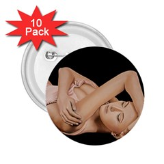 Gentle Embrace 2 25  Button (10 Pack)