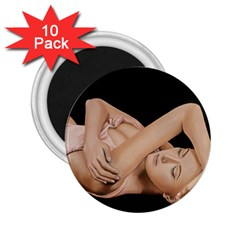 Gentle Embrace 2 25  Button Magnet (10 Pack)