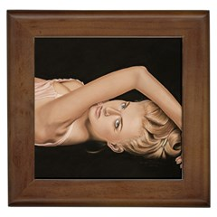 Alluring Framed Ceramic Tile by TonyaButcher