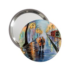 Just The Two Of Us Handbag Mirror (2.25 ) by TonyaButcher